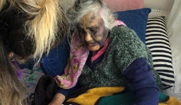 Bakıcı dehşeci! Yaşlı kadını bu halde buldular