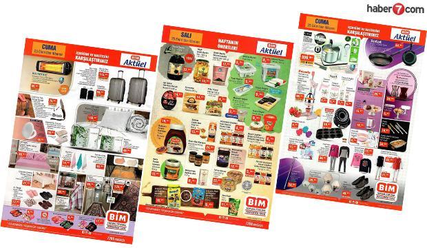29 Ekim BİM aktüel kataloğu! BİM aktüel ürünlerin listesi...