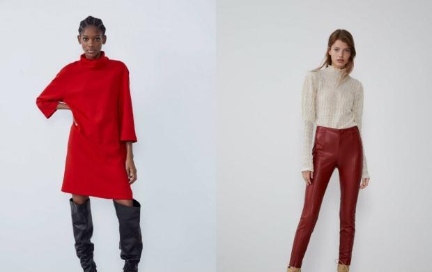 kırmızı renk elbiseler