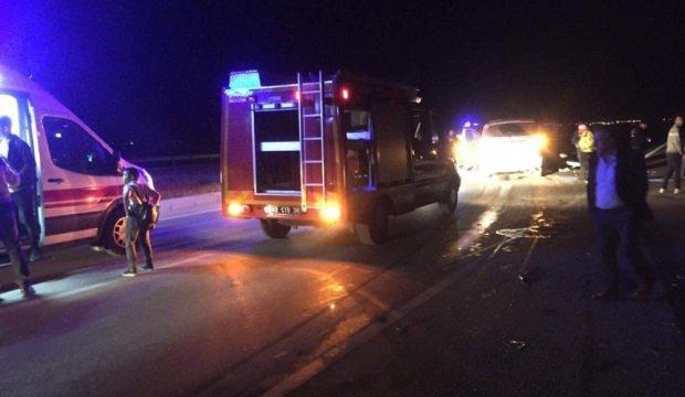 Konya'da korkunç kaza! 2 ölü, 11 yaralı