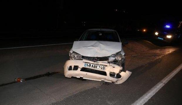 Muğla'da iki otomobil çarpıştı: 7 yaralı