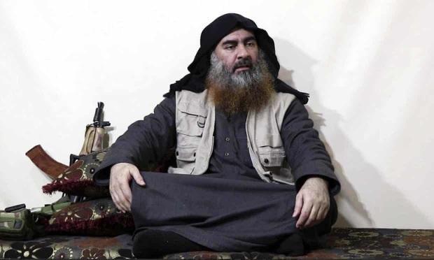 DEAŞ Lideri Bağdadi'nin son görüntülerinden biri.