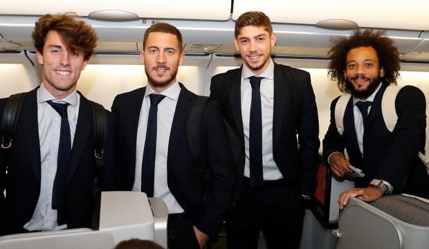 Real Madrid İstanbul'a geldi!