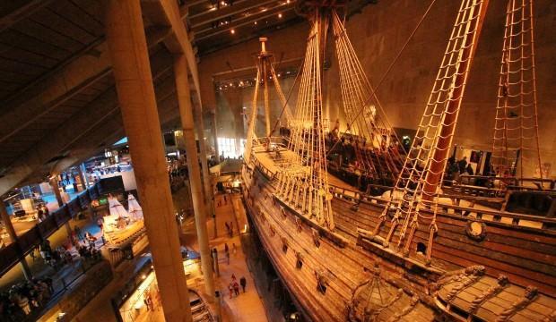 1628 yılında batan 333 yıl sonra kurtarılan gemi Stockholm Vasa Müzesi