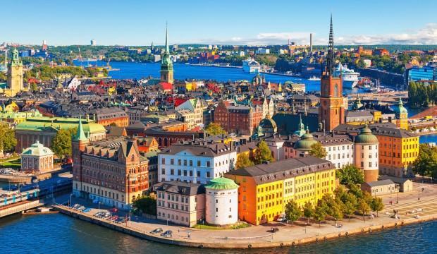 2 milyon nüfusa sahip Stockholm'de bisiklet gezisi