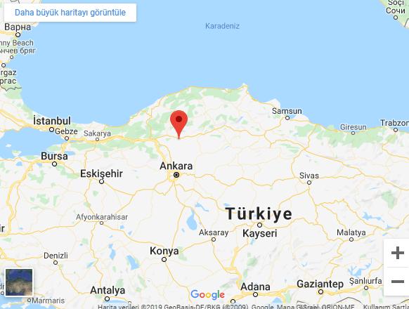 Çankırı'da deprem meydana geldi