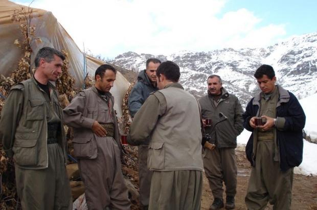 Kobani'nin PKK kamplarındaki görüntüleri...