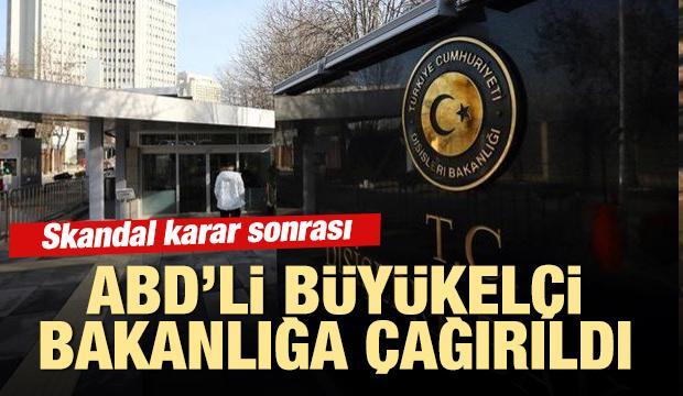 ABD'nin Ankara Büyükelçisi Satterfield, Dışişleri'ne çağrıldı