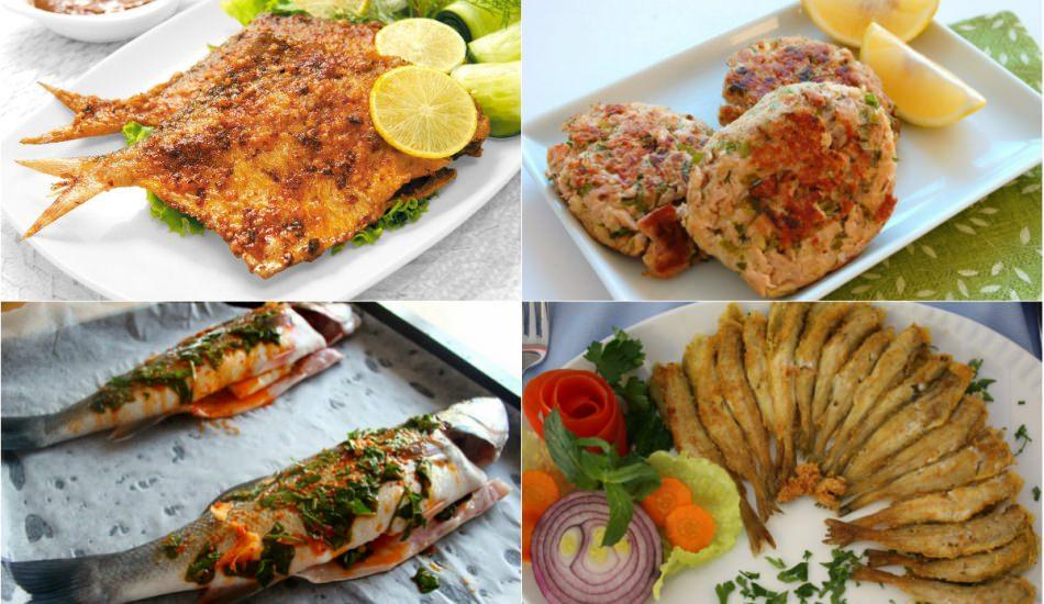 Balık ile yapılan lezzetli yemek tarifleri