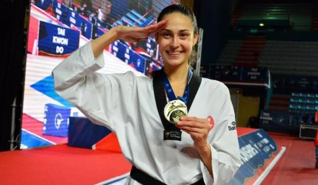 İrem Yaman'dan altın madalya!