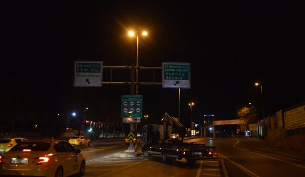 İstanbul Maratonu için yollar kapatıldı