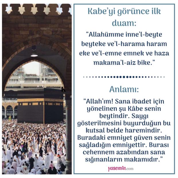 Kabe duası