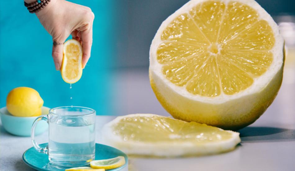 Sabahleyin aç karna limonlu su içmek zayıflatır mı? Zayıflamak için limonlu su nasıl yapılır?