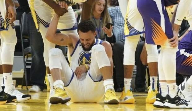 Stephen Curry'nin eli kırıldı!