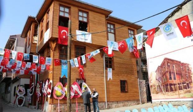 Tekirdağ'da restore edilen Türk-Macar Kültür Evi açıldı