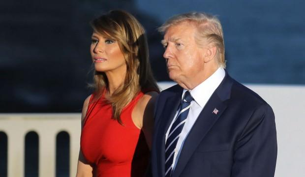 Trump'tan samimi itiraf: Beni vursalar Melania ağlamaz