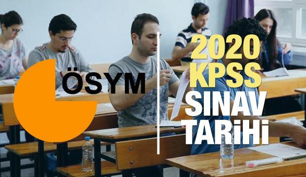 2020 KPSS sınavı ne zaman? ÖSYM Kamu Personel Seçme Sınav takvimi