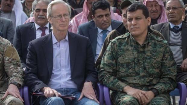 William V. Roebuck ve teröristbaşı Mazlum Kobani...