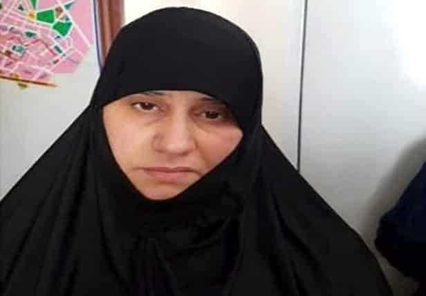Bağdadi'nin ilk eşi Esma Feysi Muhammed el Kubeysi.