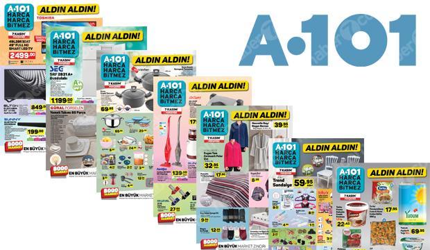 8 Kasım A101 aktüel ürünler kataloğu!