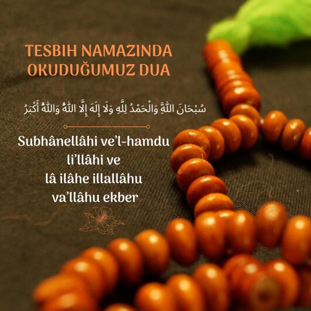 Tesbih duası