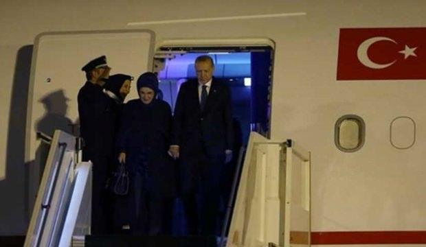 Başkan Erdoğan, yurda döndü