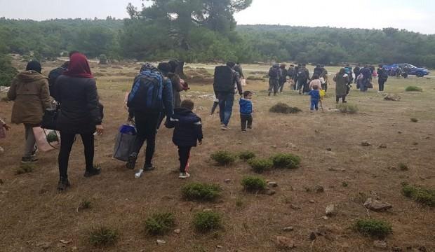 Edirne'de 257 göçmen yakalandı