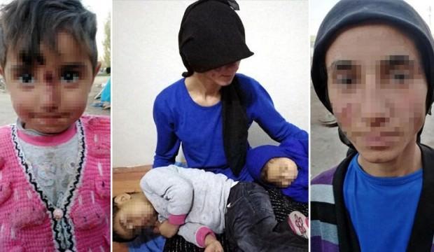 Eşi ve 3 yaşındaki kızına işkence etti, serbest bırakıldı!