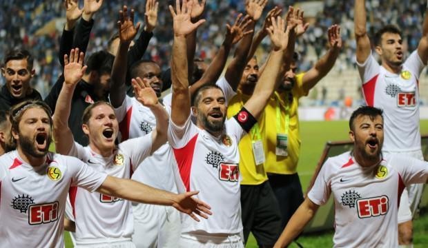 Gol düellosunu  Eskişehirspor kazandı