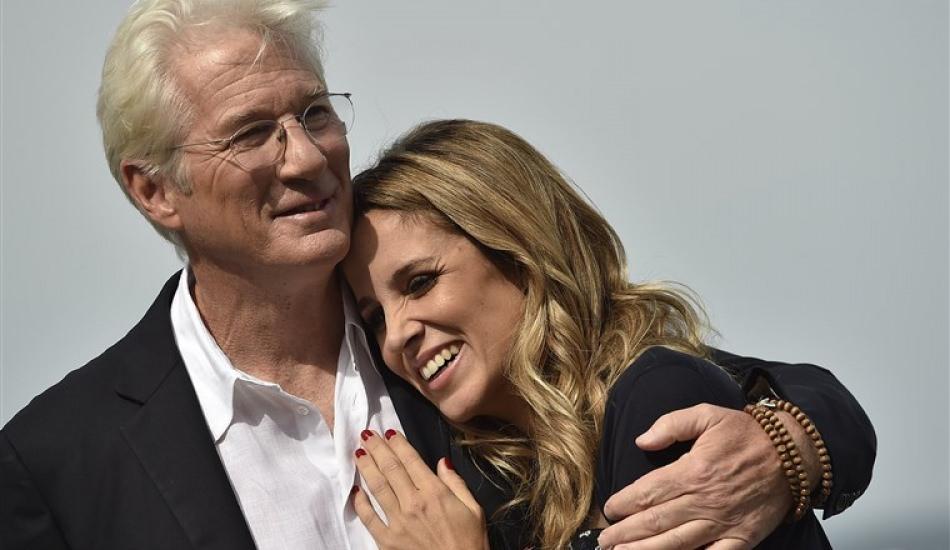 Hollywood yıldızı Richard Gere 9 ayda ikinci kez baba oluyor!