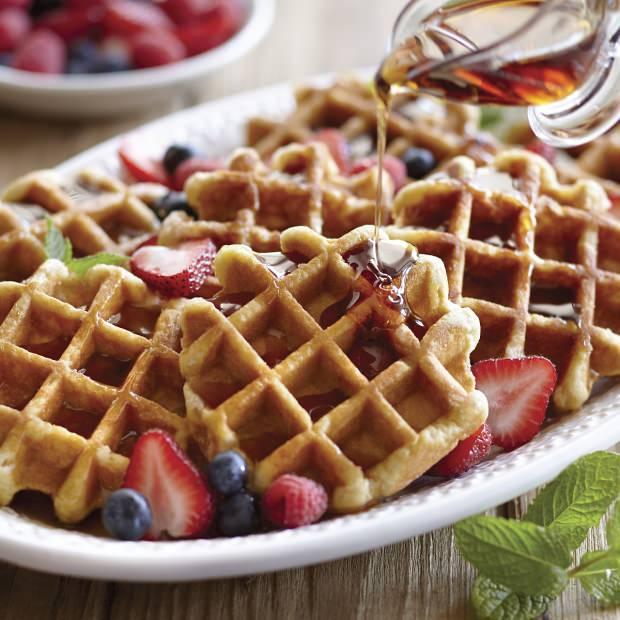 waffle pratik yapımı