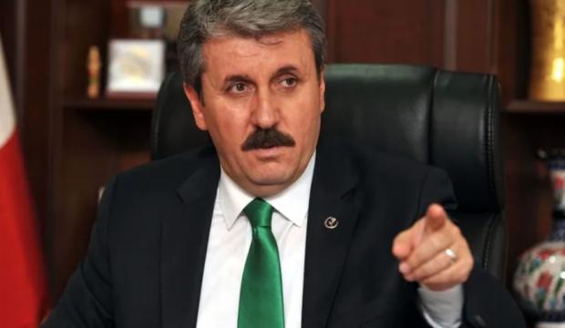 Mustafa Destici'den Bülent Arınç'a sert tepki!