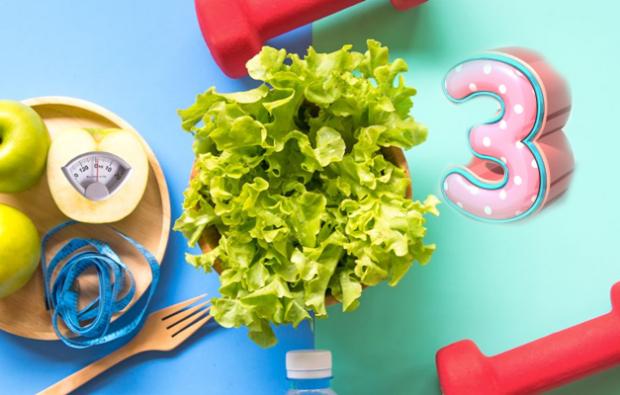3 günlük şok diyet nasıl yapılır?