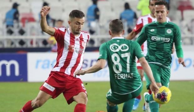 Süper Lig'in yeni lideri Sivasspor!