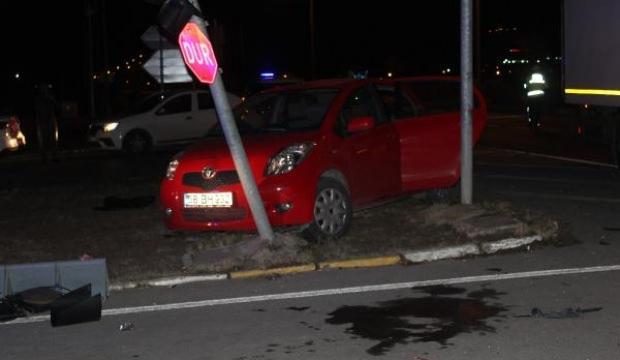 Sivas'ta kamyon ile otomobil çarpıştı: 4 yaralı