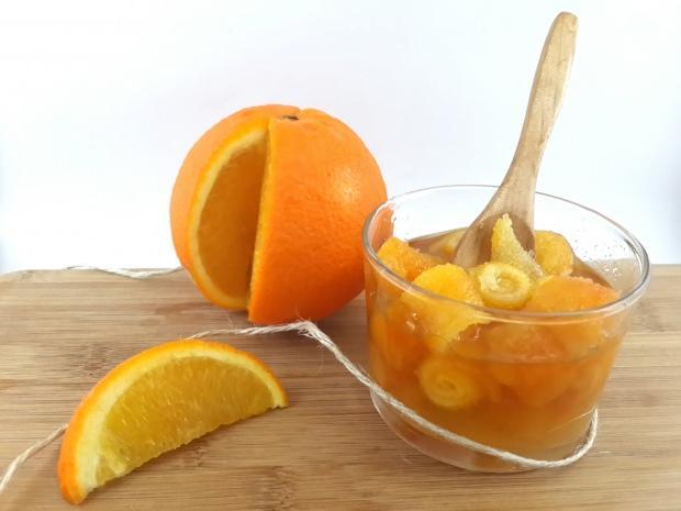 ev yapımı portakal reçeli