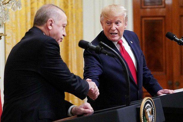 Cumhurbaşkanı Erdoğan ve ABD Başkanı Donald Trump