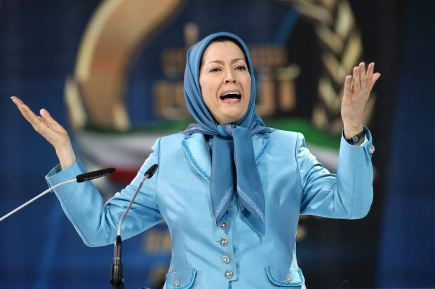 Muhalif isim Maryam Rajavi....
