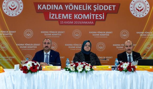 Kadına Yönelik Şiddet İzleme Komitesi toplandı
