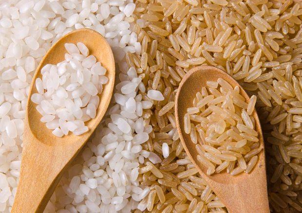 beyaz pirinç ile esmer pirinç