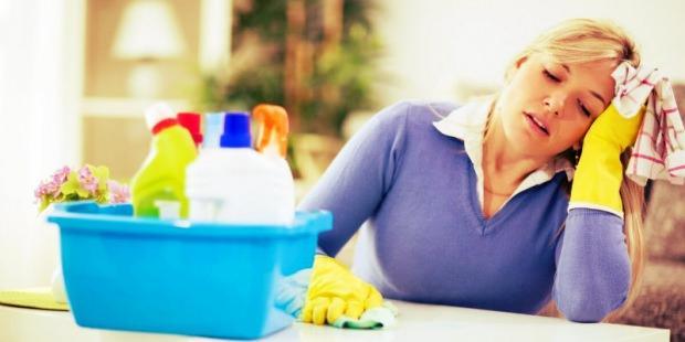 Çalışan kadınlara özel ev temizliği tüyoları