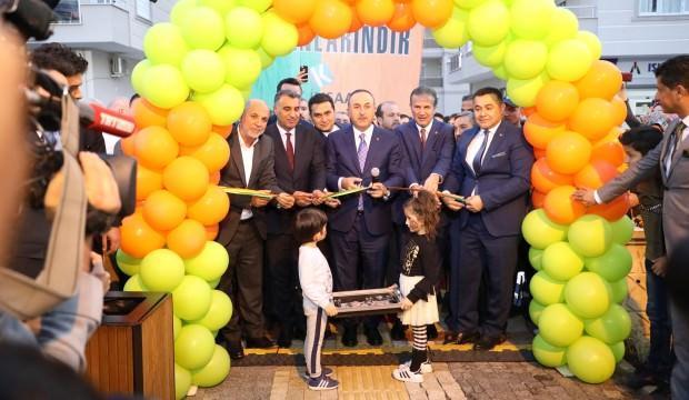 Alanya'da Josef Sural parkı açıldı