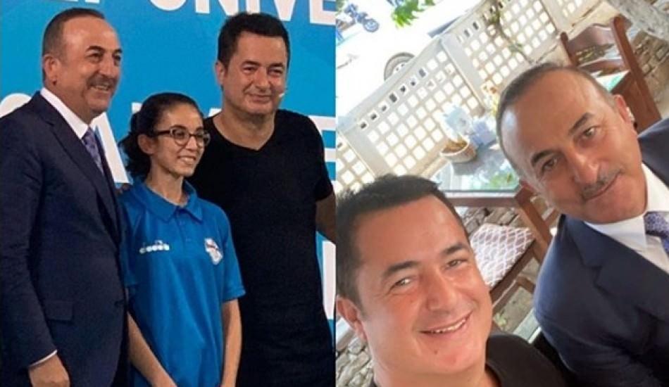 Bakan Çavuşoğlu'ndan Acun Ilıcalı sürprizi!