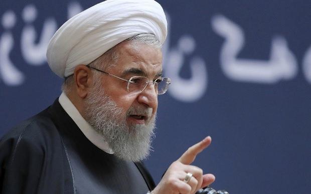 İran Cumhurbaşkanı Hasan Ruhani...