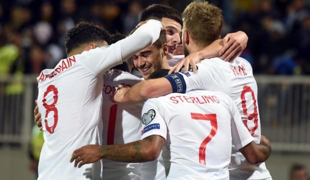 İngiltere Kosova'yı gol şovla geçti!