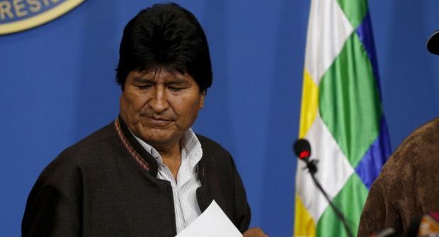 İtifa eden Devlet Başkanı Evo Morales, iltica teklifini kabul ettiği Meksika'ya gitmek üzere Bolivya'dan ayrıldı