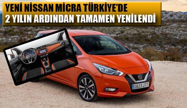 Yeni Nissan Micra Türkiye'de: İşte 2019 Micra'nın fiyatı ve özellikleri