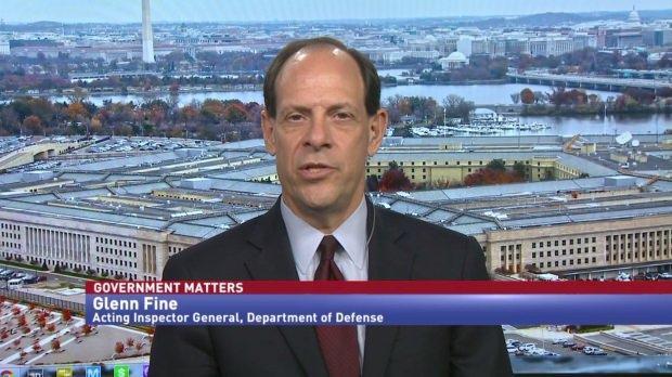 Pentagon Genel Müfettişi Glenn Fine...