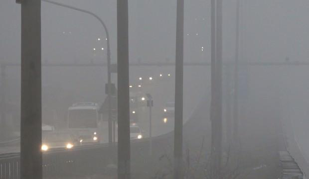 43 ilin kilit noktasında yoğun sis