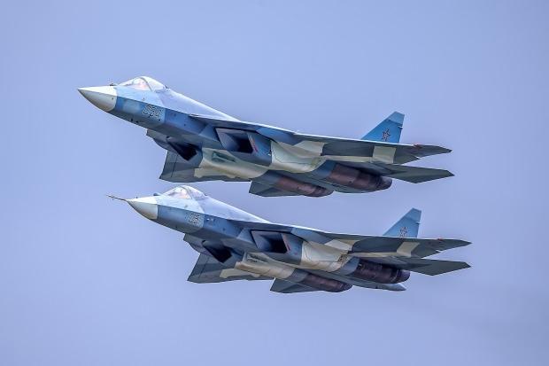 Rusya yapımı su-57...